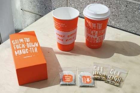 Provocative Tea Branding