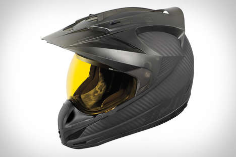 Tinted Shield Motorcycle Helmets