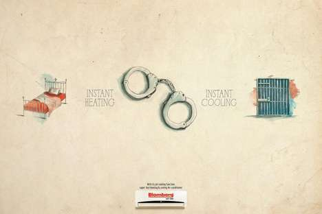 Opposing Temperature Ads