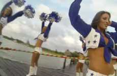 Hula Hooping Cheerleader Videos - Dallas Cowboy Cheerleaders Offer a Sensual POV of Their Bodies