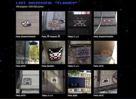 Graffiti-Hunting Games
