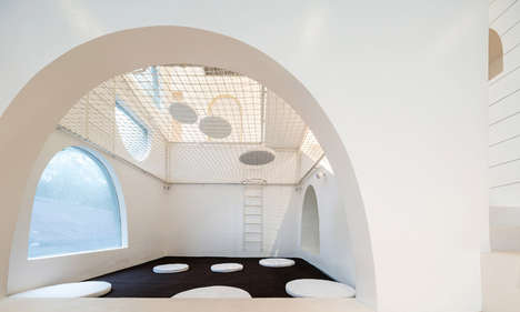 Indoor Playground Abodes - The Jerry House Allows People to Relax and Have Fun