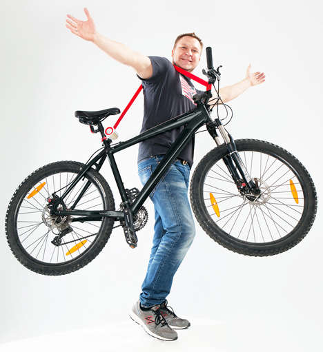 Hands-Free Cyclist Straps