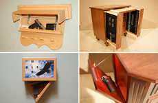 Gun-Concealing Furniture