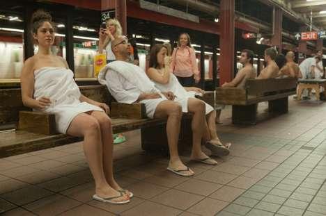 Subway Spa Pranks