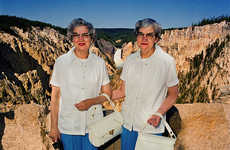 80s Tourist Photography - The Roger Minick 'Sightseer' Series Catalogs American Tourists