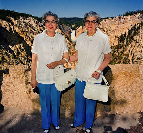 80s Tourist Photography