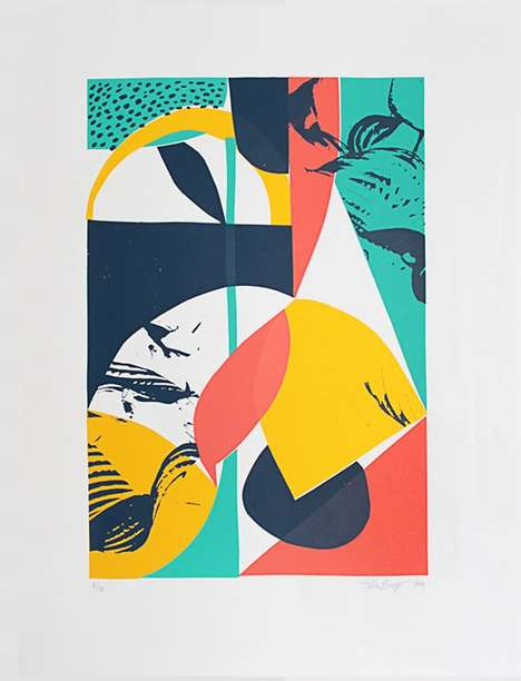 Collaged Pop Art Illustrations