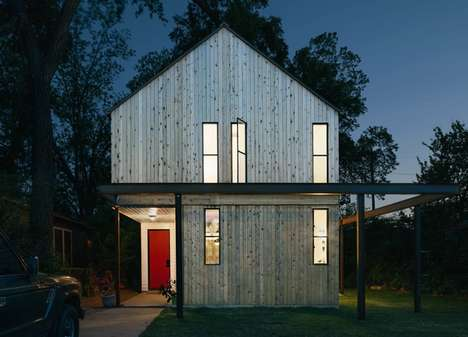 Contemporary Country Cabins