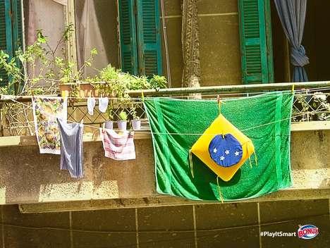 Patriotic Laundry Ads