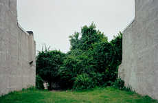 Abandoned Lots Photography - Daniel Traub's Photos Depict Abandoned Residential Lots in Philadelphia