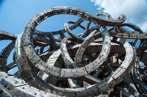 Twisting Snake Buildings