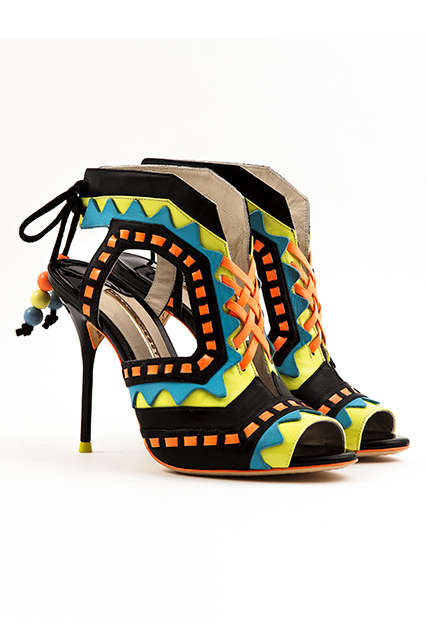 Feminine Eccentric Footwear