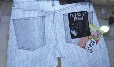 Magical Reflective Denim - The Naked & Famous Reflective Denim Debut is Raw Genius