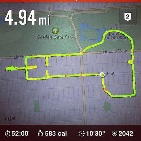 Phallic Runner Art