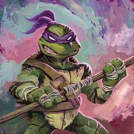 Iconic Turtle Illustrations