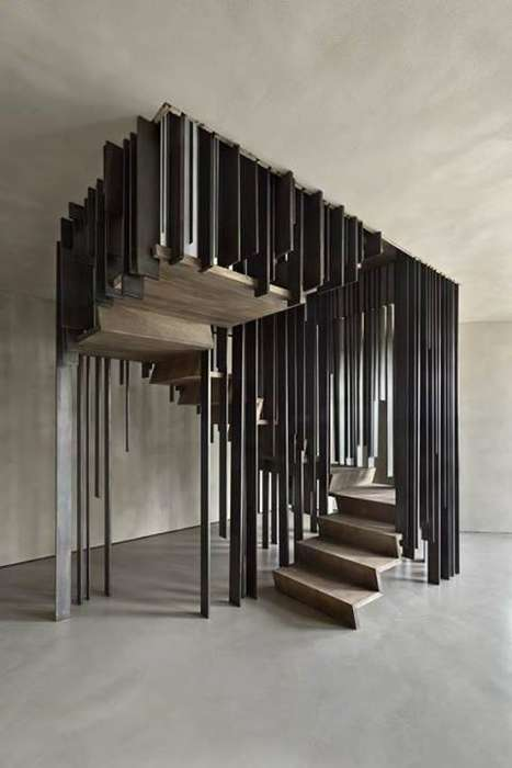 Optical Illusion Staircases
