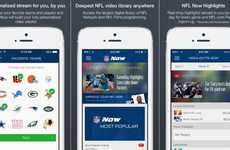 Fully Loaded Football Apps - The NFL Now Mobile App Offers Tons of Video Highlights