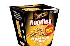 Microwaveable Curry Noodles - This Curry Noodles Brand is Better Known For Burgers and Hot Dogs