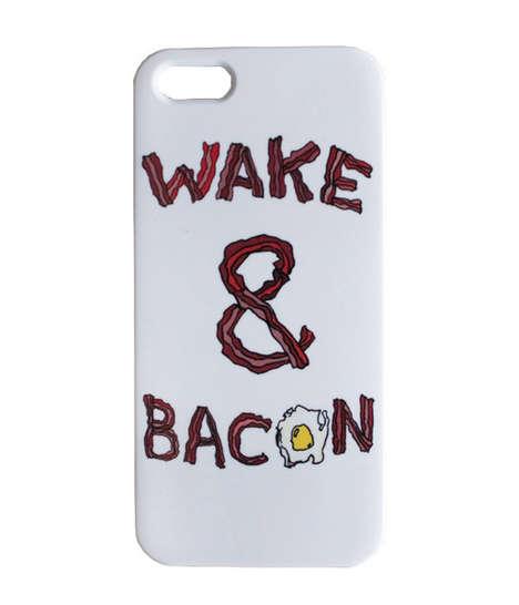 Bacon Breakfast Phone Cases