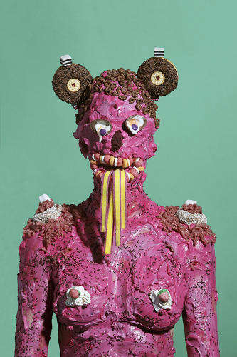 Humanized Junk Food Sculptures