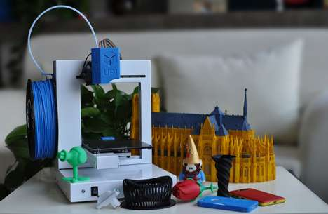 Domestic 3D Printers - Equipped with the Modernized Version of 3D Printing, the UP! Start Plus 3D