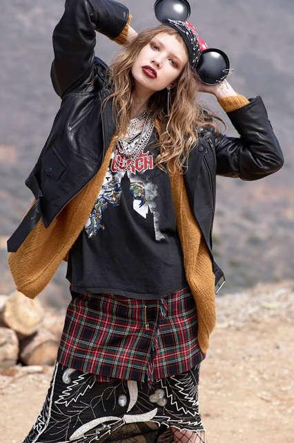 Outdoorsy Collegiate Fashion