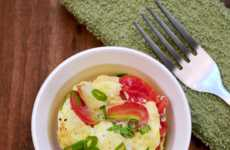 Quick Microwave Quiches - Daisy Bun of Full Thyme Student Shares an Easy Healthy Recipe