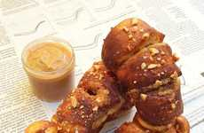 Unusual Peanut Butter Pretzels - Dominique Ansel Unveiled Latest Dessert on Good Morning America.