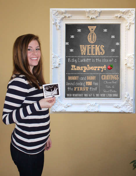 Pregnancy Countdown Chalkboards