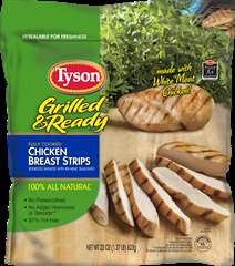 Microwaveable Chicken Dinners - The Tyson Grilled & Ready Chicken Products Have Zero Preservatives