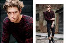 Streetside Sartortial Portraits - Erik Carter Captures Rudi Dollmayer at Soul Artist Management