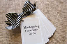 Thanksgiving Countdown Cards - LeAnne Ballard Provides the Perfect Way to Celebrate Being Thankful