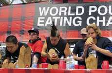 Poutine-Eating Contests