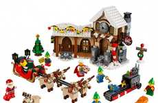 Holiday LEGO Sets - The Santa's Workshop Building Block Collection is Perfect for the Winter