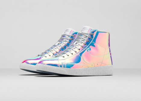 Glossy Basketball Shoes