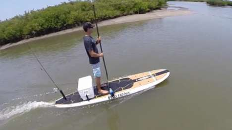 Electric Fishing Paddleboards