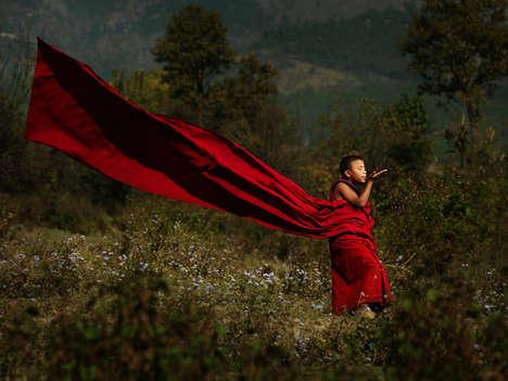 Heartwarming Monk Photography