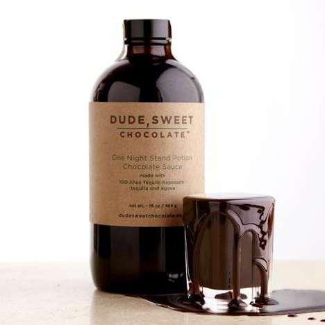 Boozy Chocolate Syrups