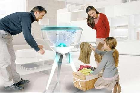 Detergent-Free Washing Machines