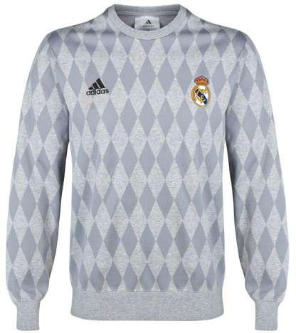 Diamond-Patterned Sweatshirts