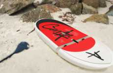 Modular Portable Paddleboards - The Hydra Paddleboard Can Be Broken Down into Three Portable Pieces
