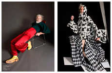 Elderly Couture Editorials - Aiden Shaw Stars in Out of Order Magazine's Étant Donnés Story