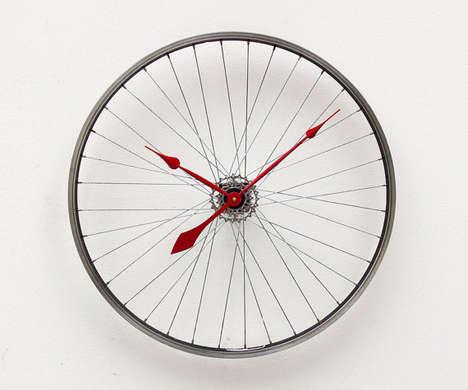 Industrial Cyclist Clocks