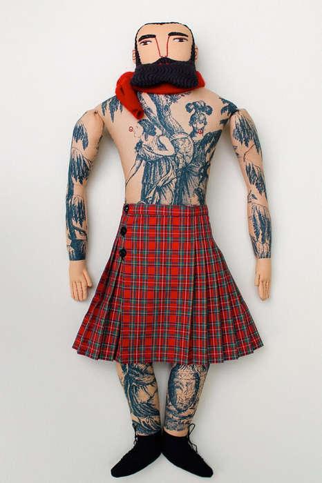 Hipster Highlander Dolls
