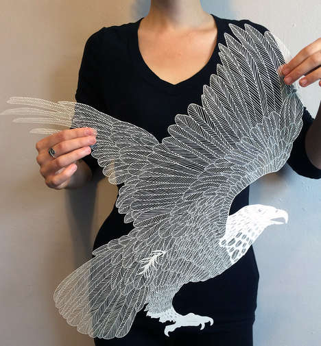 Delicate Paper Art