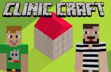 8-Bit Charity Build Campaigns - Clinic Craft Aims to Raise Money for Save the Children on Minecraft