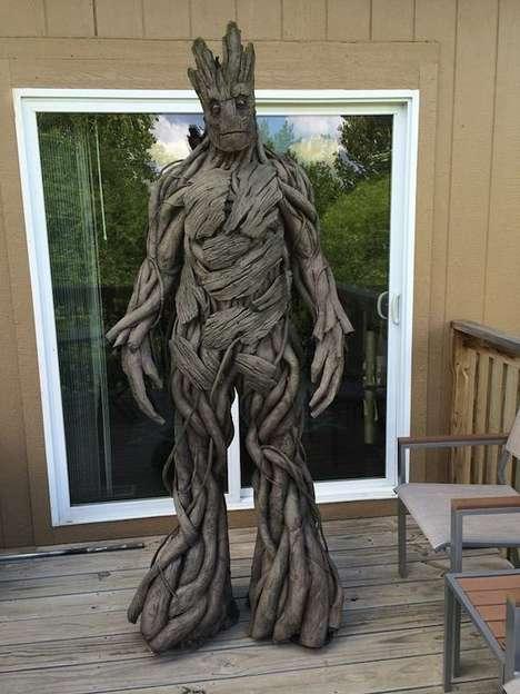 Superhero Tree Cosplay