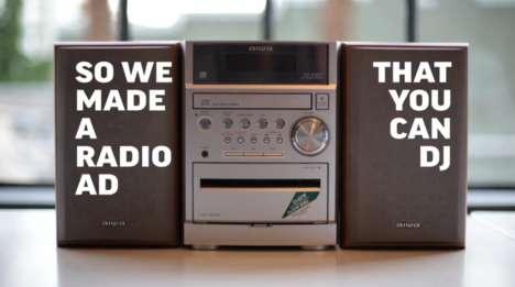 Remixable Radio Ads
