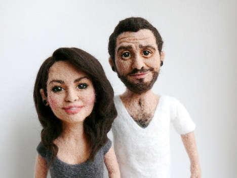 Personalized Felt Figurines